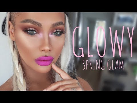BABE IN PARADISE GLOWY SPRING GLAM | SONJDRADELUXE