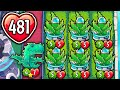 Using The GODLY Heal Combo To BM In PvZ Heroes