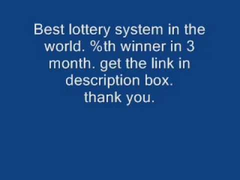 How to win the Lottery-Lottery winners-See My winning ticket proof! Lottery system