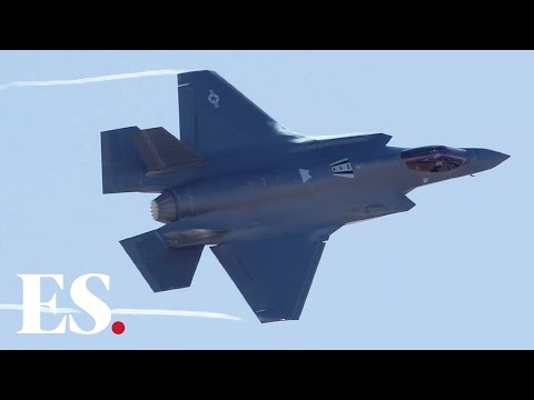 Iran News: US Air Force Show Off F35 Fighter Jet Power As Trump Warns Iran