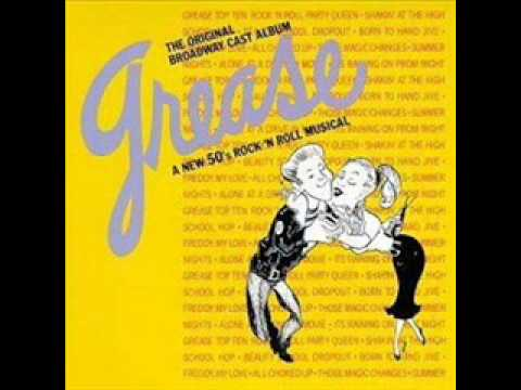 06 Grease - Mooning [Broadway 1972]