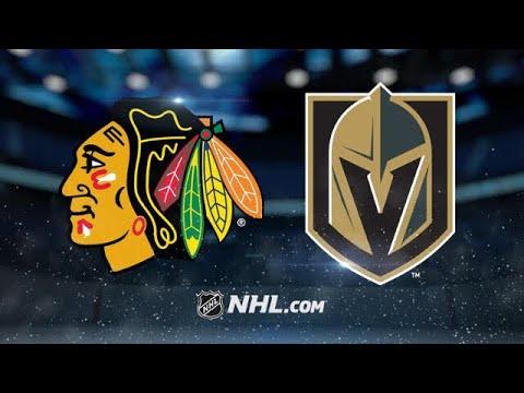"""Résultat de recherche d'images pour """"chicago blackhawks vs vegas golden knights"""""""