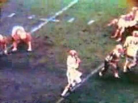 1967 Bama vs Nebraska - Stabler to Perkins