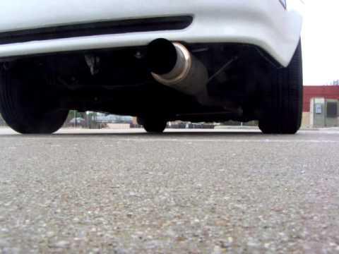 92 H22a Prelude megan racing exhaust