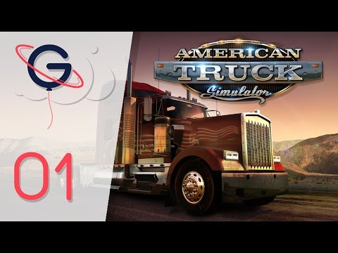 American Truck Simulator : Bienvenue en Amérique ! | Let