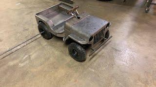 Mini Jeep body build 1