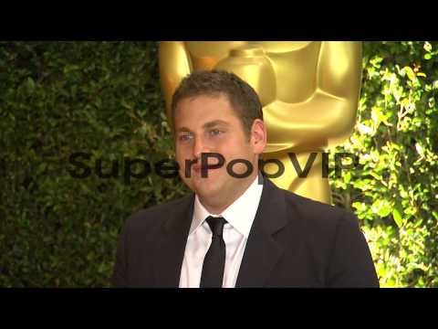 Jonah Hill at Academy Of Motion Picture Arts And Sciences...