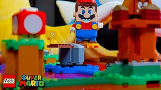 Mr A-Game plays with his LEGO