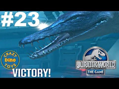 Kronosaurus Jurassic World - The Game Dinosaurs Ludia Episode 23 HD