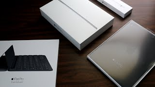 ipad pro 9 7 unboxing with apple pencil smart keyboard