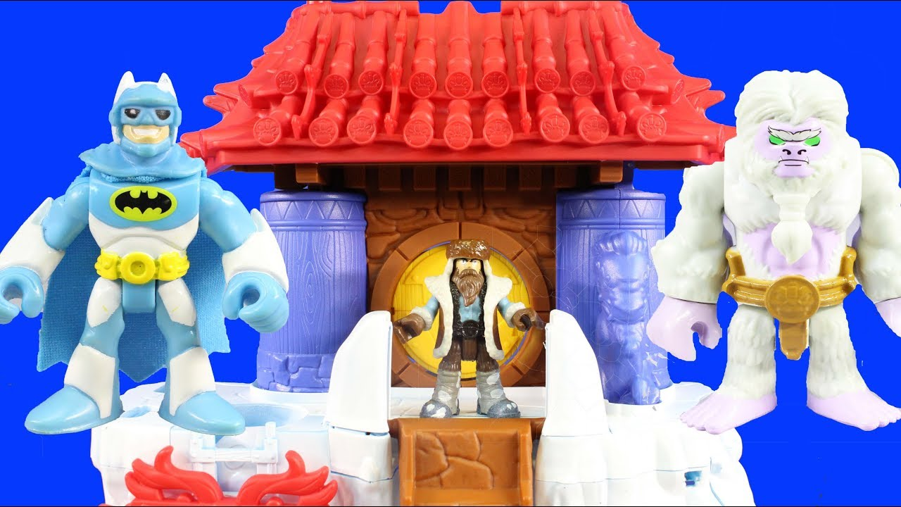 Imaginext Yeti Mountain Takeover Yeti Trap And Snow Monster Mr