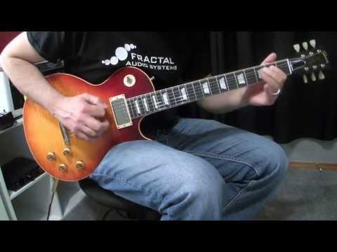 Gibson Les Paul + Axe FX II
