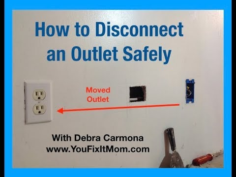 How to Disconnect an Outlet