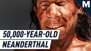 Here's What the Reconstructed Face of A 50-000-Year-Old Neanderthal Looks Like | Mashable