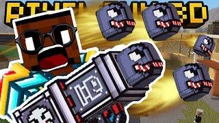 SMART BULLET BAZOOKA!! | Pixel Gun 3D