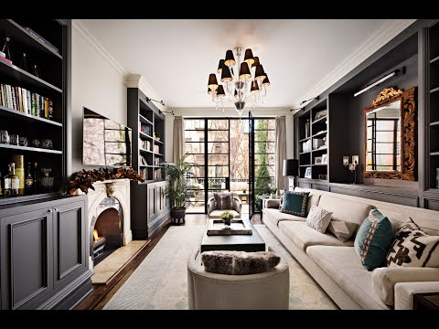 NYC CELEBRITY TOWNHOUSE TV Segment - West Village