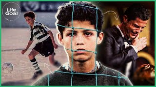 How Cristiano Ronaldo's youth turned him into the great champion that he is today - LIFE GOALS