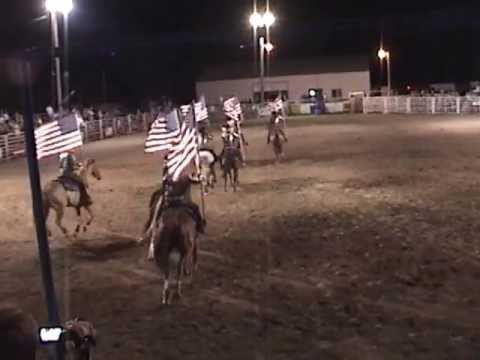 Fire & Ice's Patriotic Performance at the Woodbine Rodeo 7-12-13