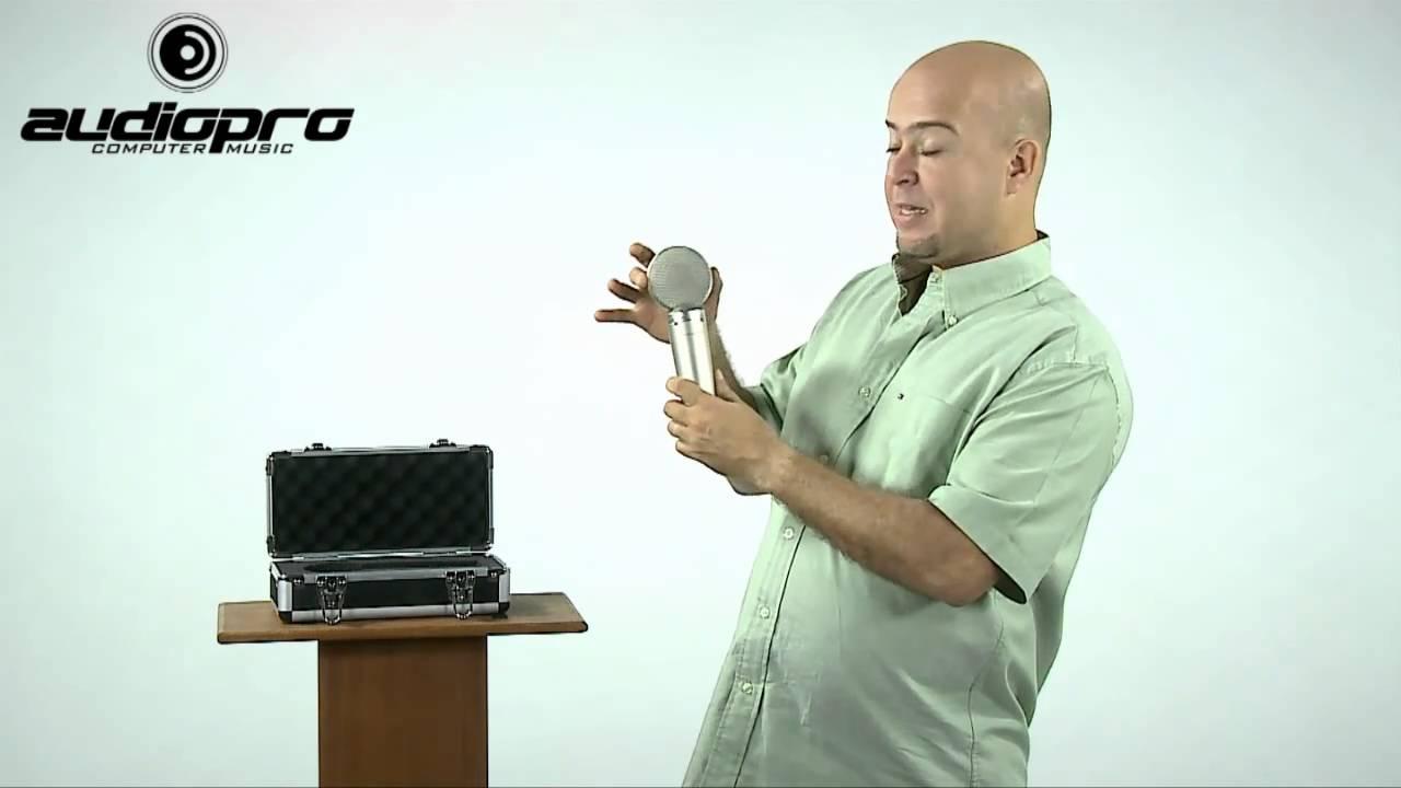 audiopro microfone m audio solaris youtube. Black Bedroom Furniture Sets. Home Design Ideas