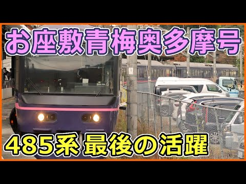 【列車紹介】485系『華』お座敷青梅奥多摩号に乗車!