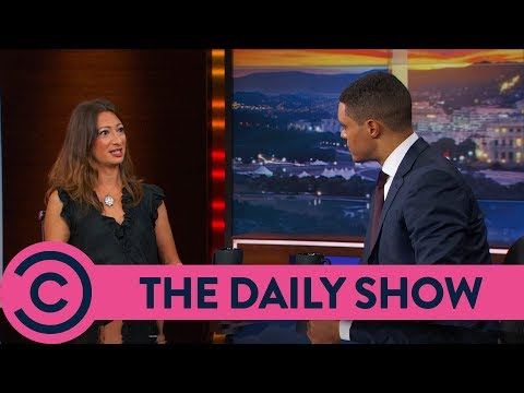 Dr. Rola Hallam On Syria Crisis - The Daily Show | Comedy Central