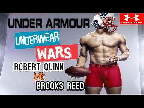 Under-Armor Under-Wear Wars Robert Quinn vs Brooks Reed