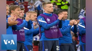 Finland's Players Applaud Denmark Back on to Pitch After Eriksen Collapse