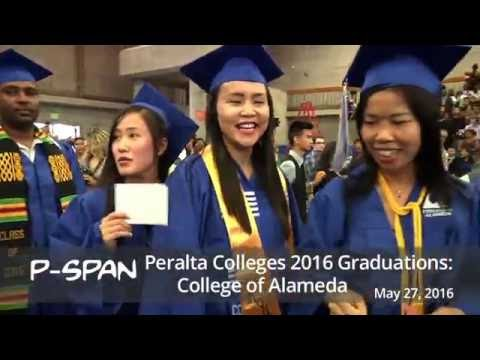 P-SPAN #516: Graduation 2016 - College of Alameda