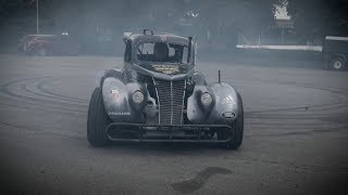 Doing Donuts in a 1937 Ford Hot Rod in 360 thumbnail