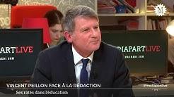 Vincent Peillon: son bilan, son projet pour l'éducation nationale