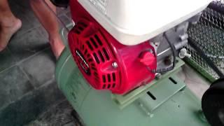 Video cara menyalakan kompresor yang agak stress