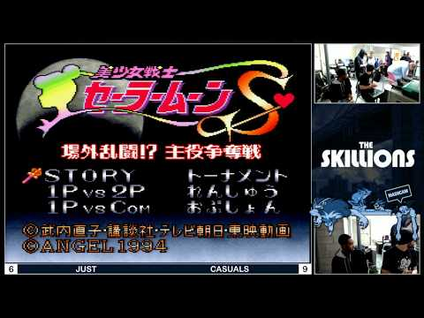 Sailor Moon S FULL Tournament - Team St1ckbug x The Skillions @ Yabai Invasion [1080p/60fps]