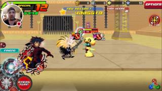 Kingdom Hearts Union X: Damage Challenge First Look!