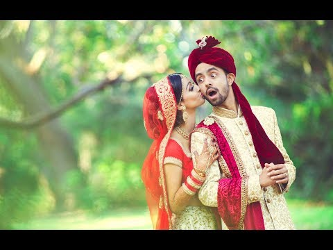 Glamarous Gujrati Wedding Highlights Video