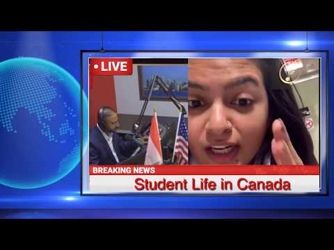 Student Life in Canada Discus in Radio Station | Bremerton in Canada | Amazing Tv