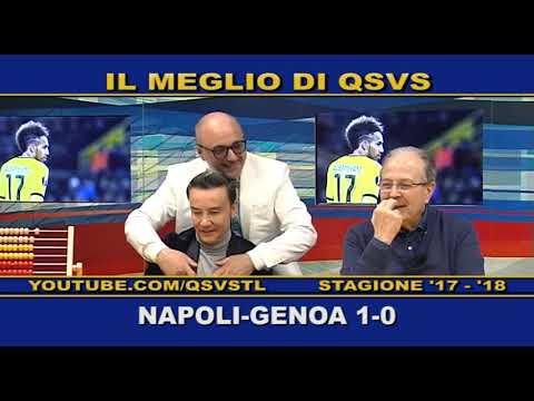 QSVS - I GOL DI NAPOLI - GENOA 1-0  TELELOMBARDIA / TOP CALCIO 24