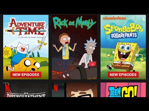 How to Watch Rick and Morty and Adventure Time on Netflix easy!