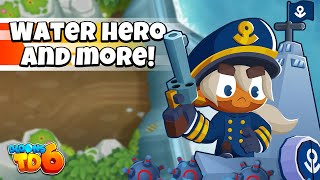 Bloons TD 6 18.0 Update - A NEW WATER HERO?!