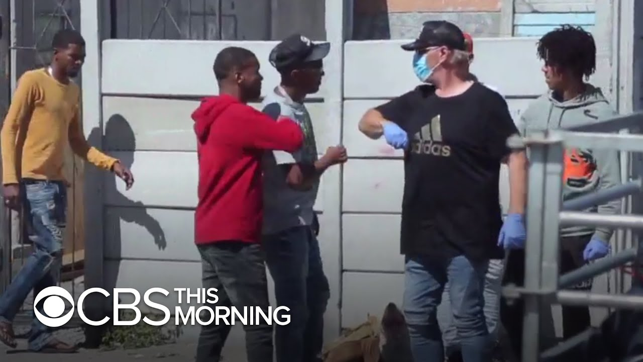 South African gang rivals work together to help people amid pandemic