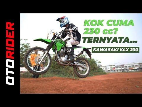 Kawasaki KLX 230 2019 First Ride - Indonesia | OtoRider