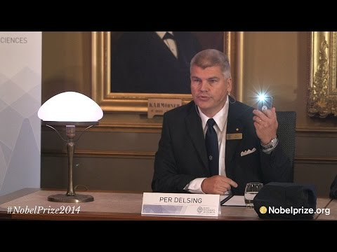 Announcement of the Nobel Prize in Physics 2014