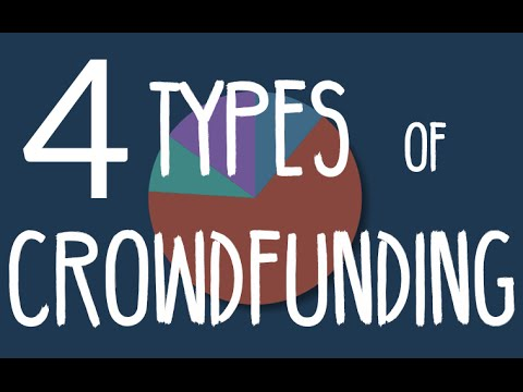 The 4 Types of Crowdfunding
