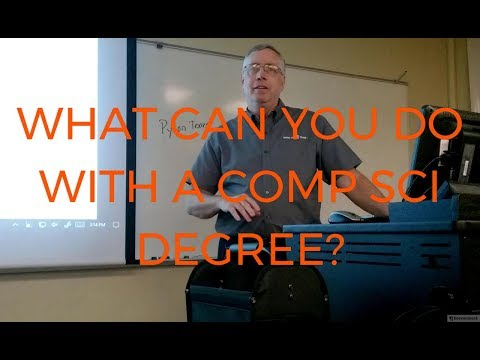 What can you do with a Computer Science degree?