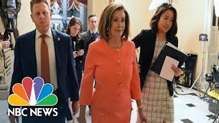 House Delivers Articles Of Impeachment To The Senate   NBC News (Live Stream Recording)
