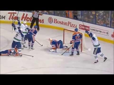 Canucks vs Oilers - Highlights - 11/1/14 - HD