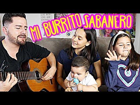 Mi Burrito Sabanero Acoustic Family Cover