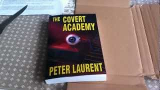 Paperback Unboxing - The Covert Academy