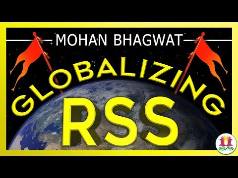 Globalizing the RSS/Mohan Bhagwat
