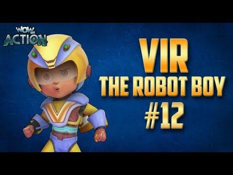 Vir: The Robot Boy | Hindi Cartoon Compilation For Kids | Compilation 12 | WowKidz Action Mp3