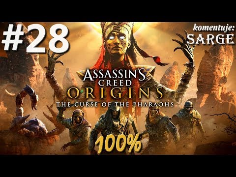 Zagrajmy w Assassin's Creed Origins: The Curse of the Pharaohs DLC (100%) odc. 28 - KONIEC DLC 100%